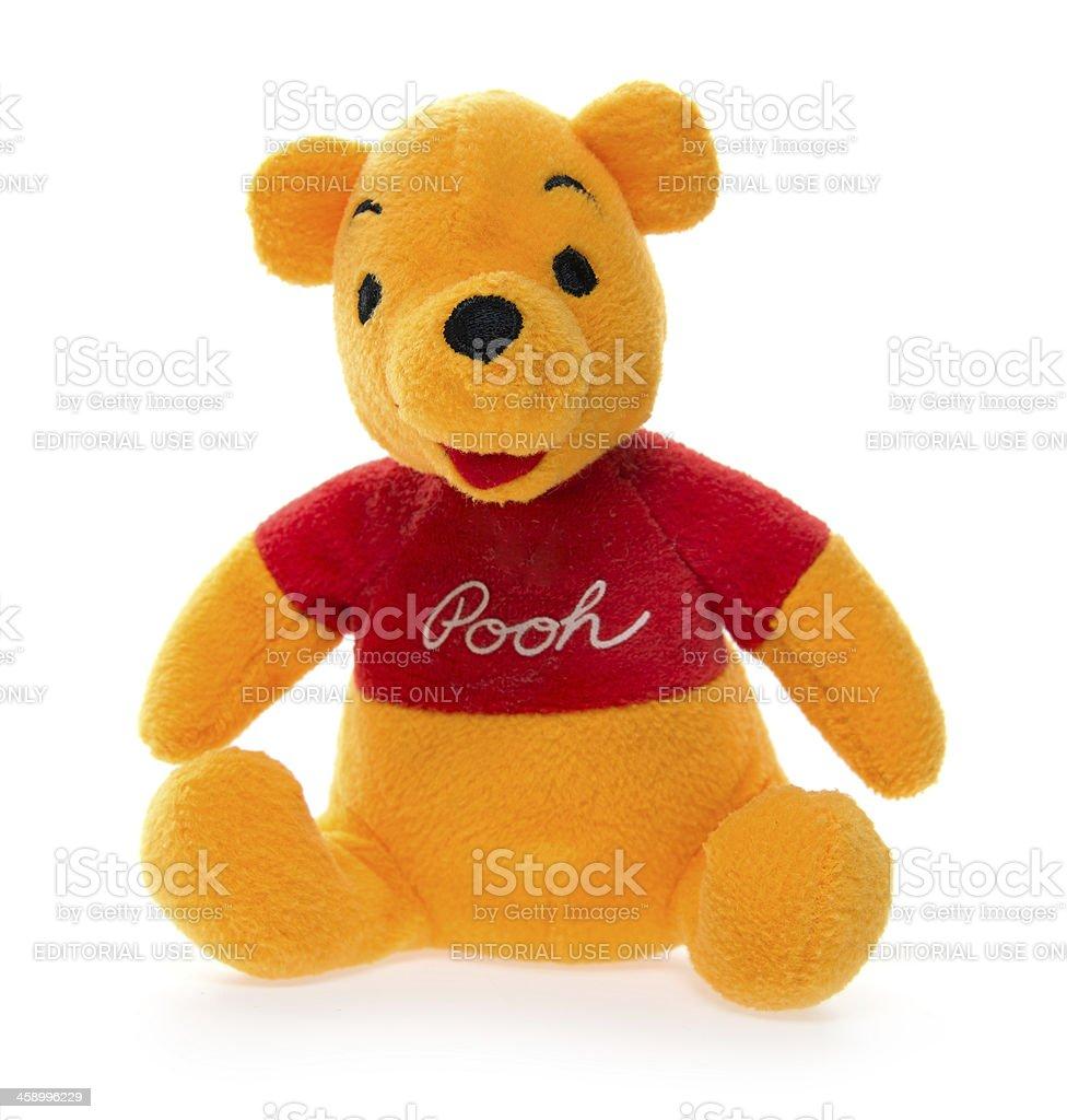 Winnie-the-Pooh Teddy Bear stock photo