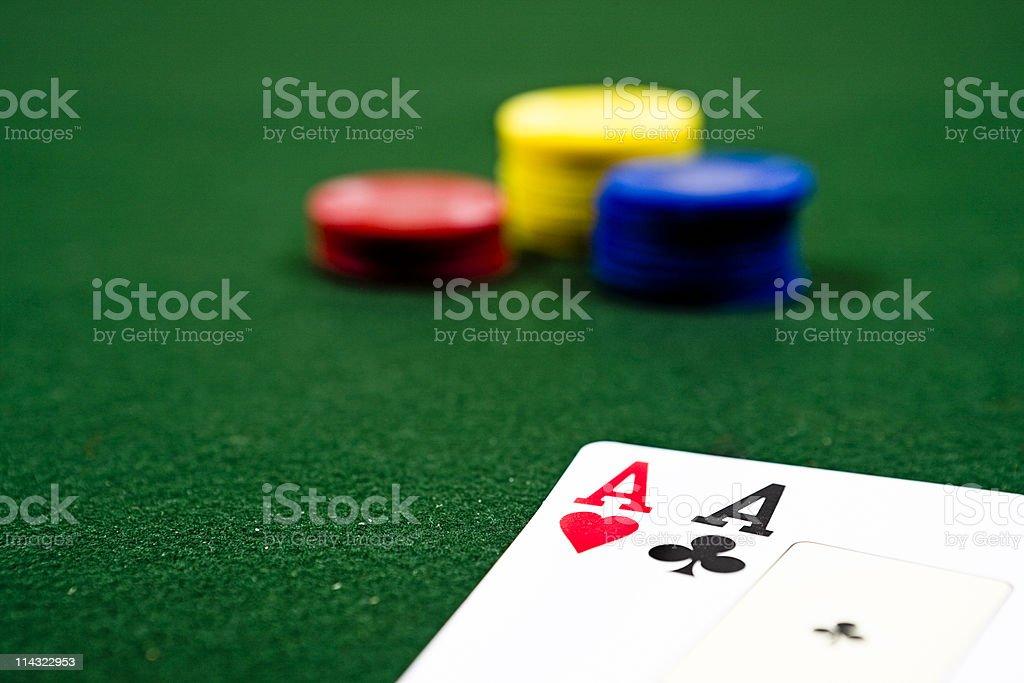 Winning bet stock photo