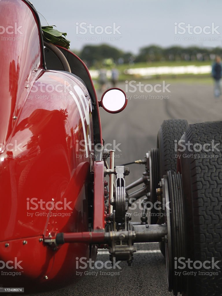 Winning Car royalty-free stock photo