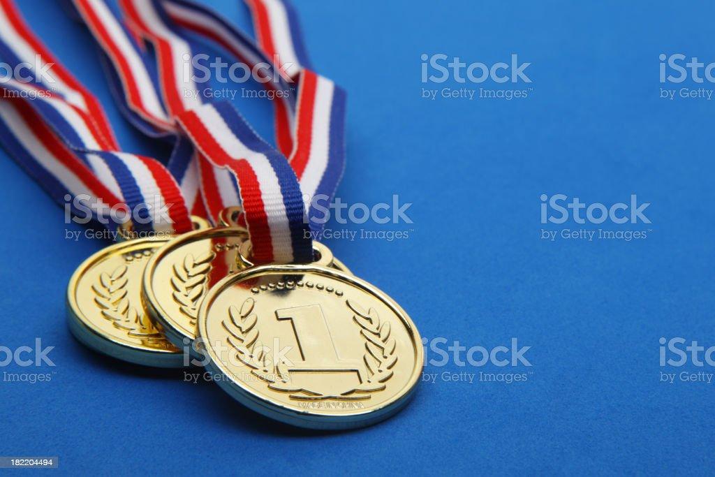 Winning Medal royalty-free stock photo