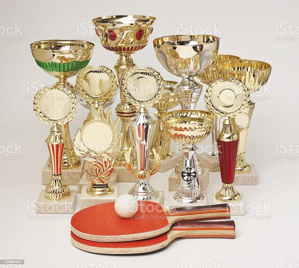 winning tennis tournaments stock photo