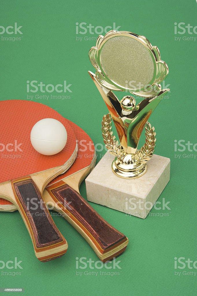 winning tennis tournaments royalty-free stock photo