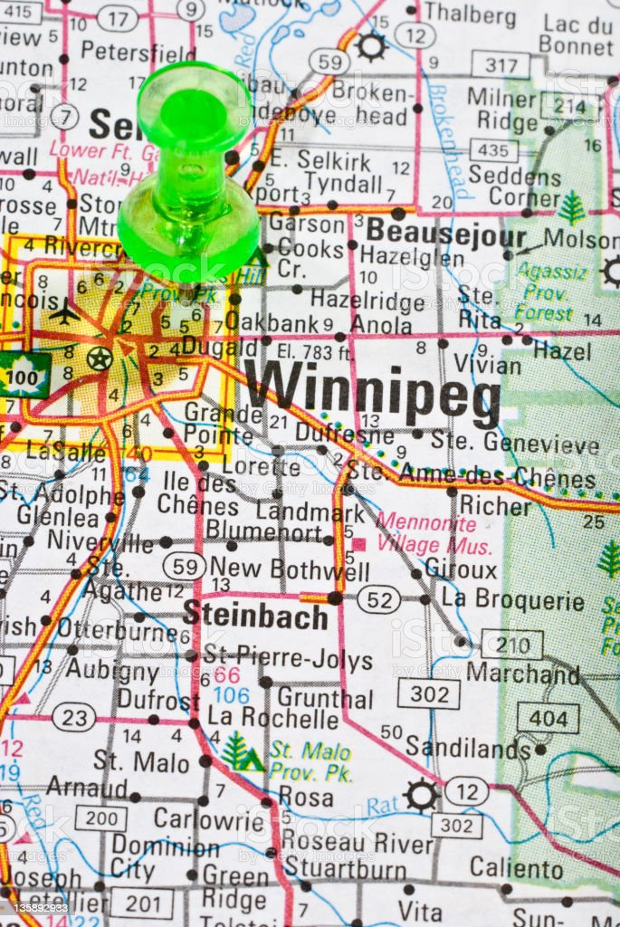 Winnipeg, Canada stock photo