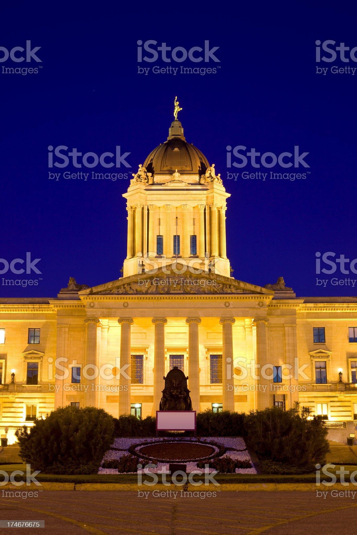 Winnipeg, Canada royalty-free stock photo