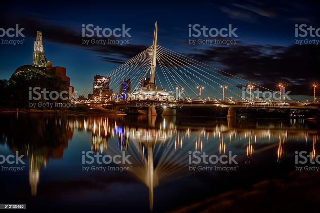 Winnipeg, Manitoba stock photo