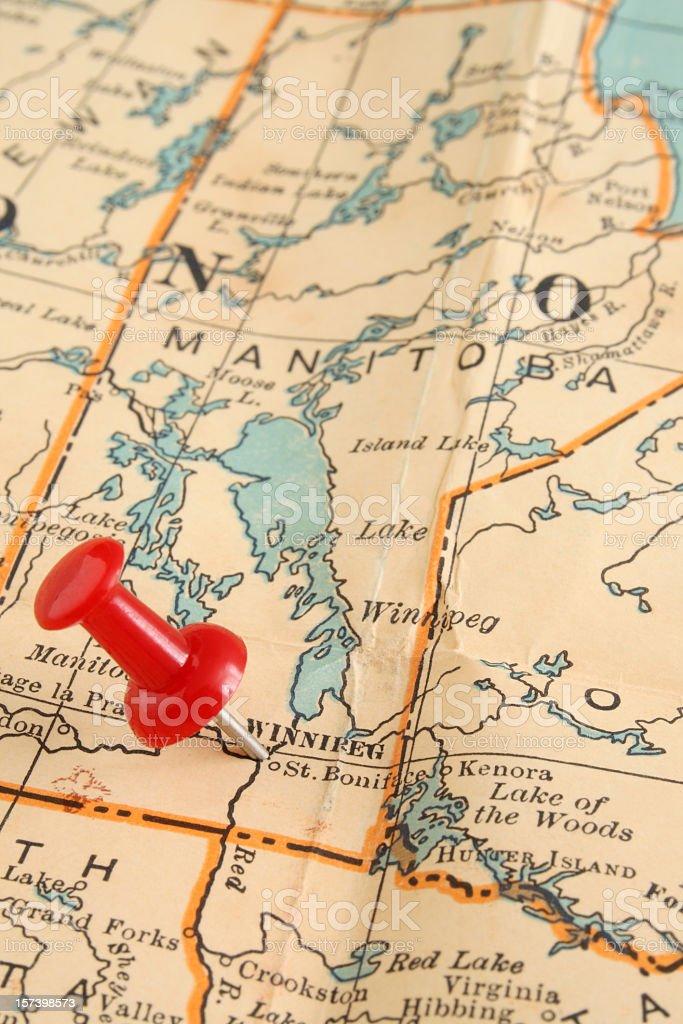 Winnipeg royalty-free stock photo