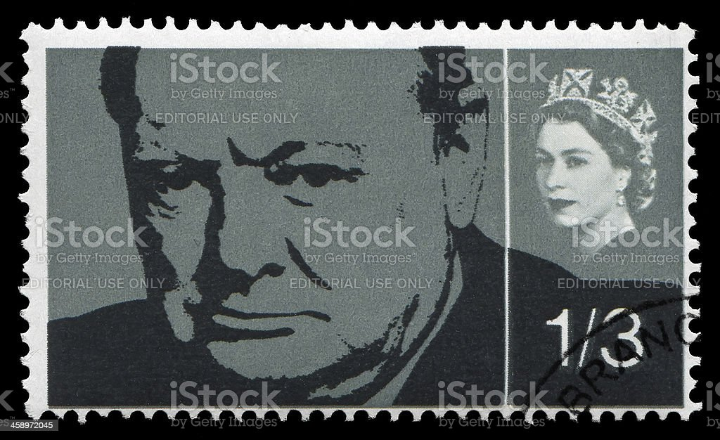 Winston Churchill (XXLarge) stock photo