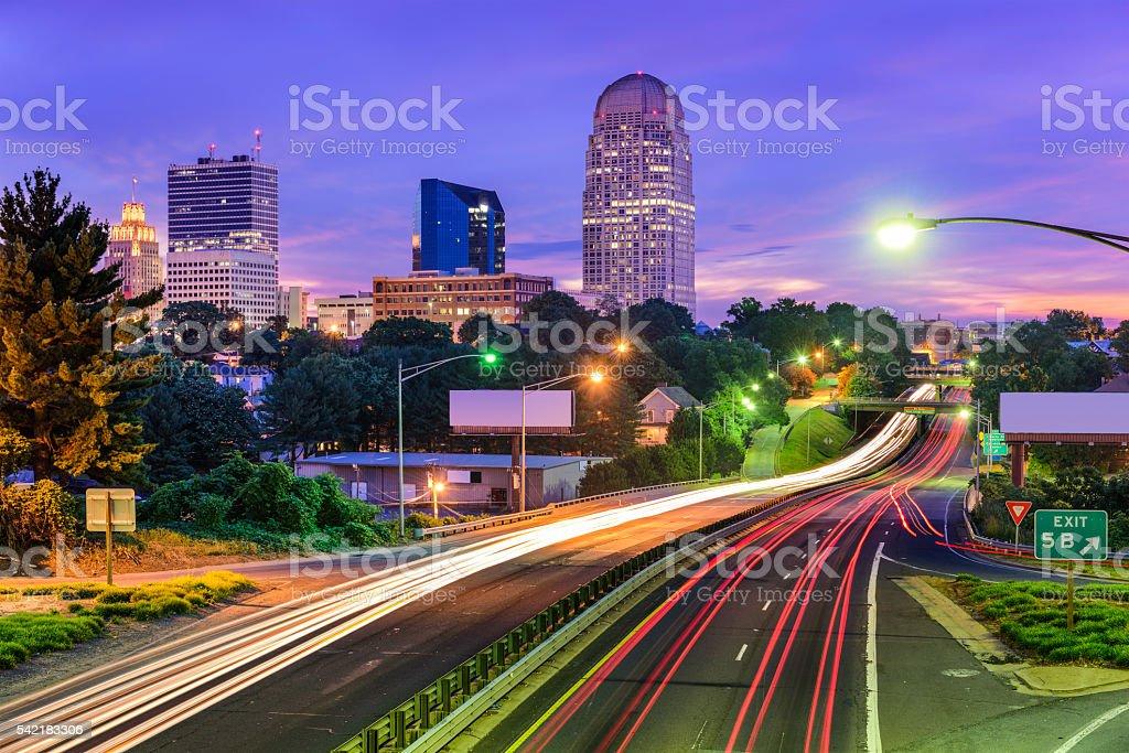 Winston-Salem, North Carolina stock photo