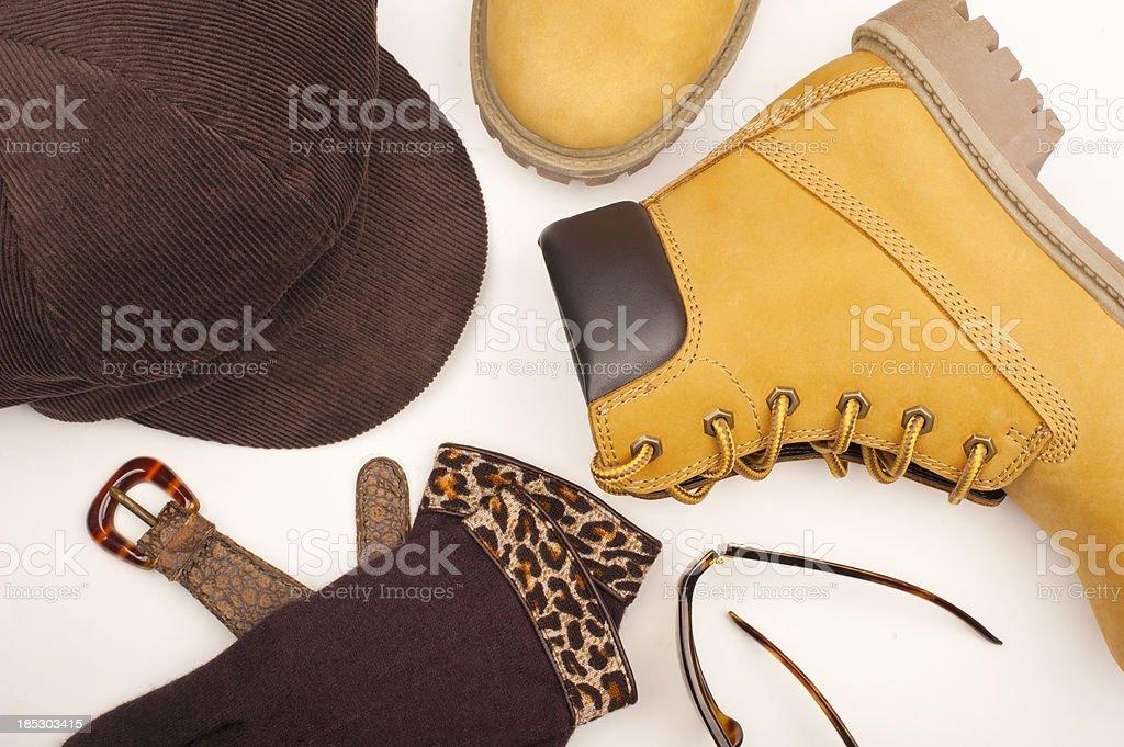 Winter Accessories stock photo