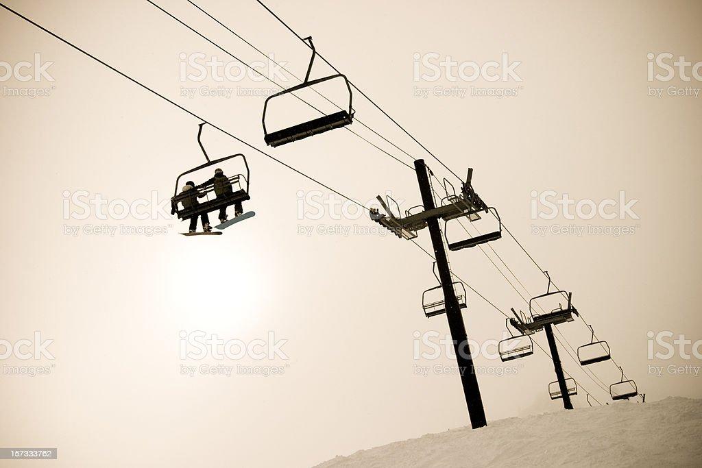 Winter Adventure royalty-free stock photo