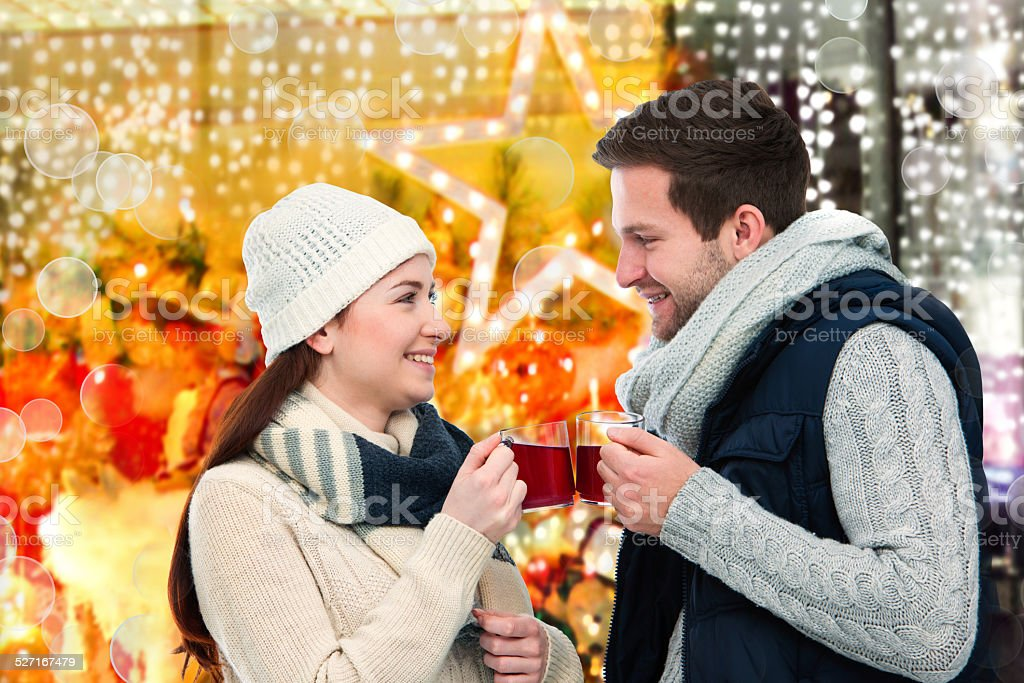 Winter and Christmas time stock photo