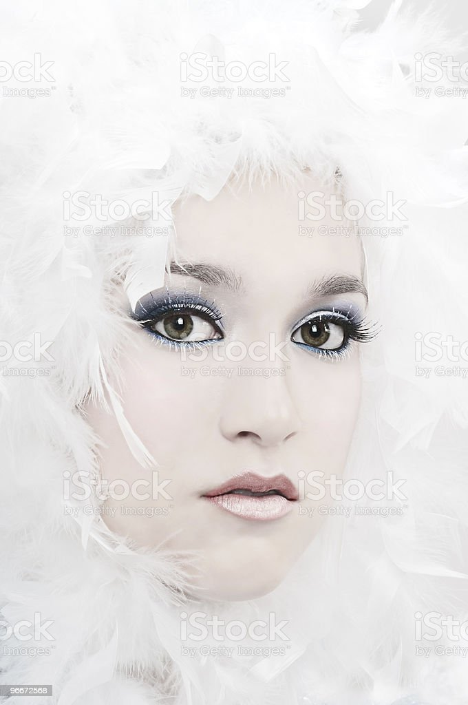 Winter Angel royalty-free stock photo