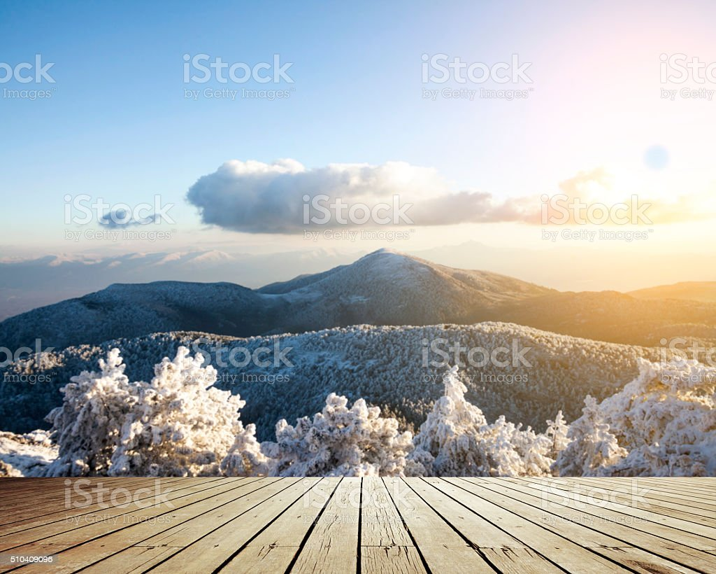 Winter Backgrounds stock photo