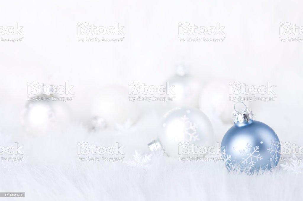 Winter Baubles (XXL) stock photo