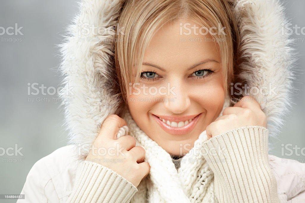Winter beauty. stock photo