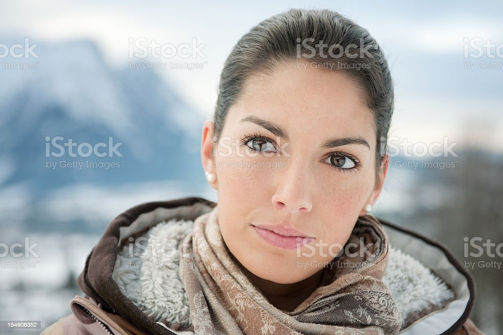 Winter Beauty (XXXL) royalty-free stock photo
