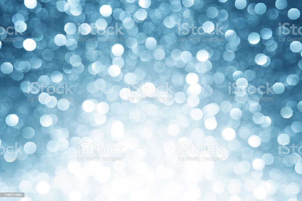 Winter bokeh background royalty-free stock photo