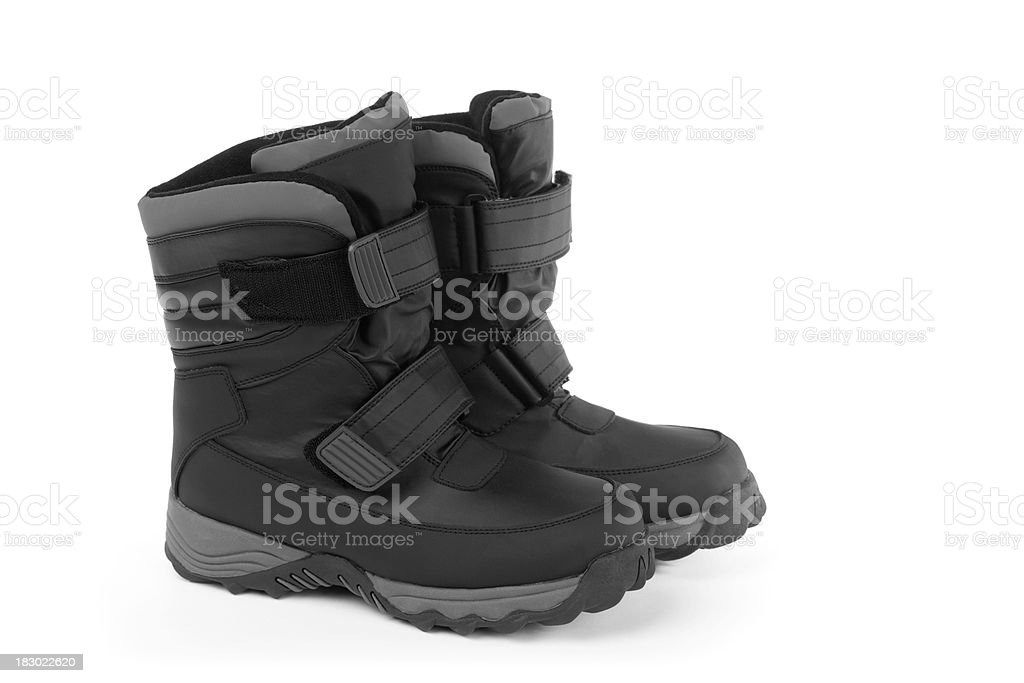 Winter Boots stock photo