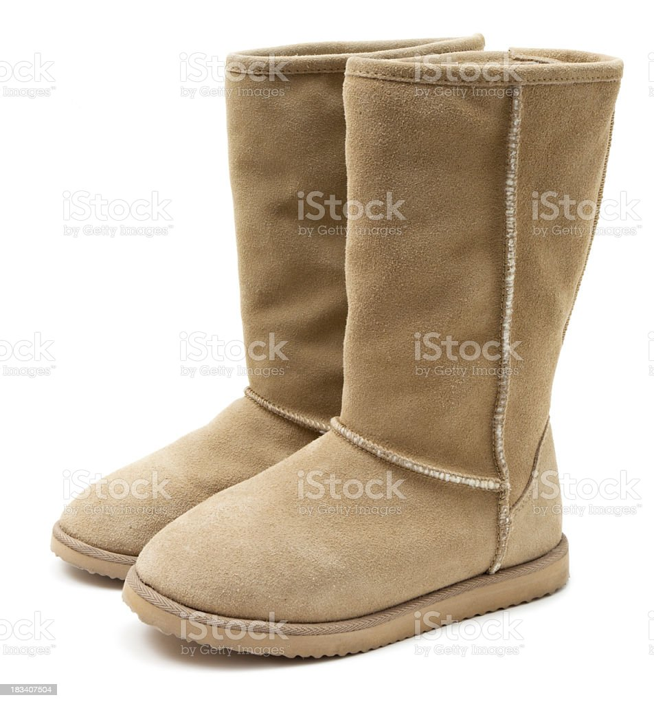 Winter boots royalty-free stock photo