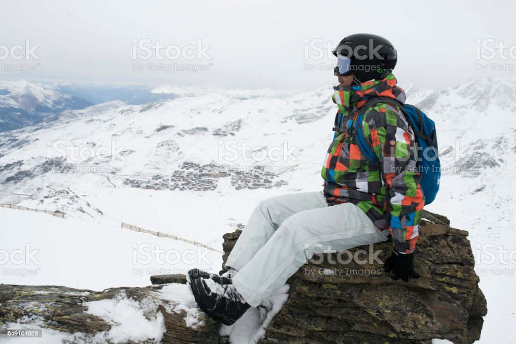 Winter Break stock photo