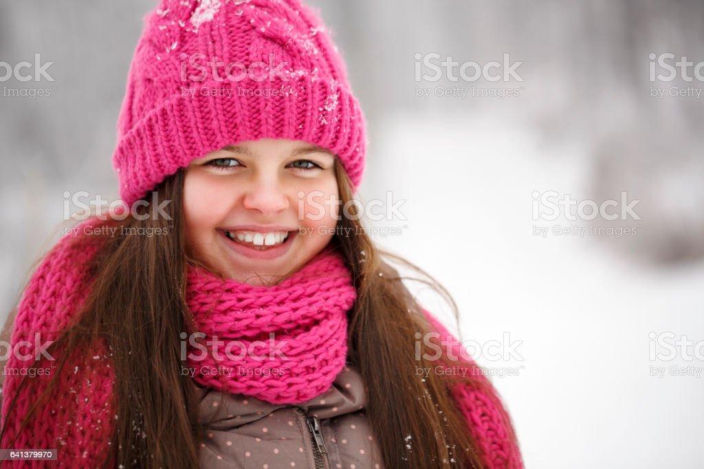Winter Breaks stock photo