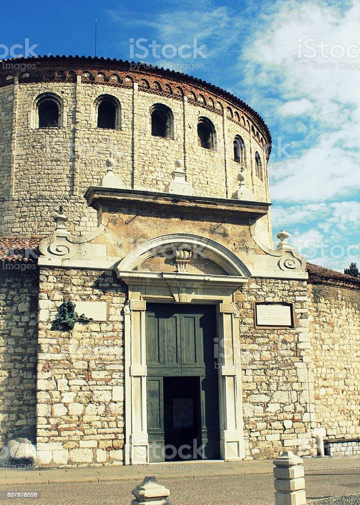 Concattedrale Invernale di Santa Maria Assunta, Brescia stock photo