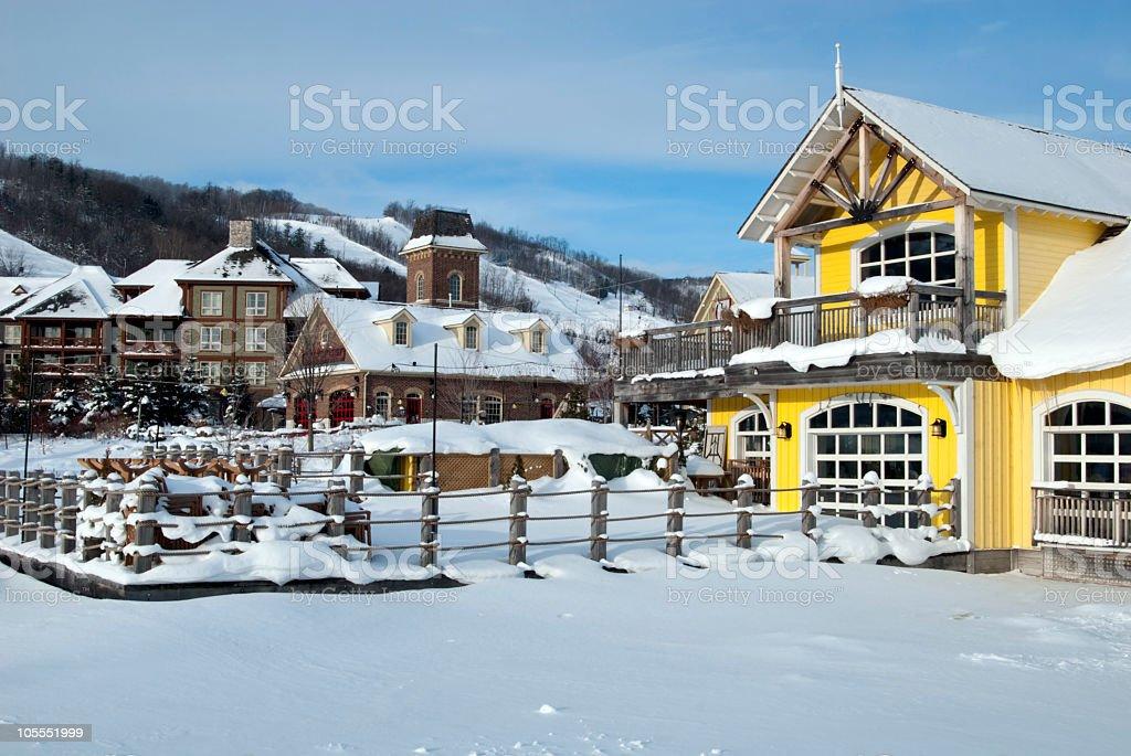 Winter Daybreak royalty-free stock photo