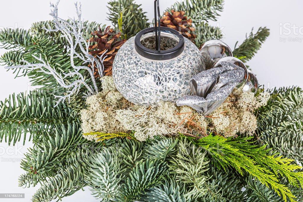 Winter decor royalty-free stock photo