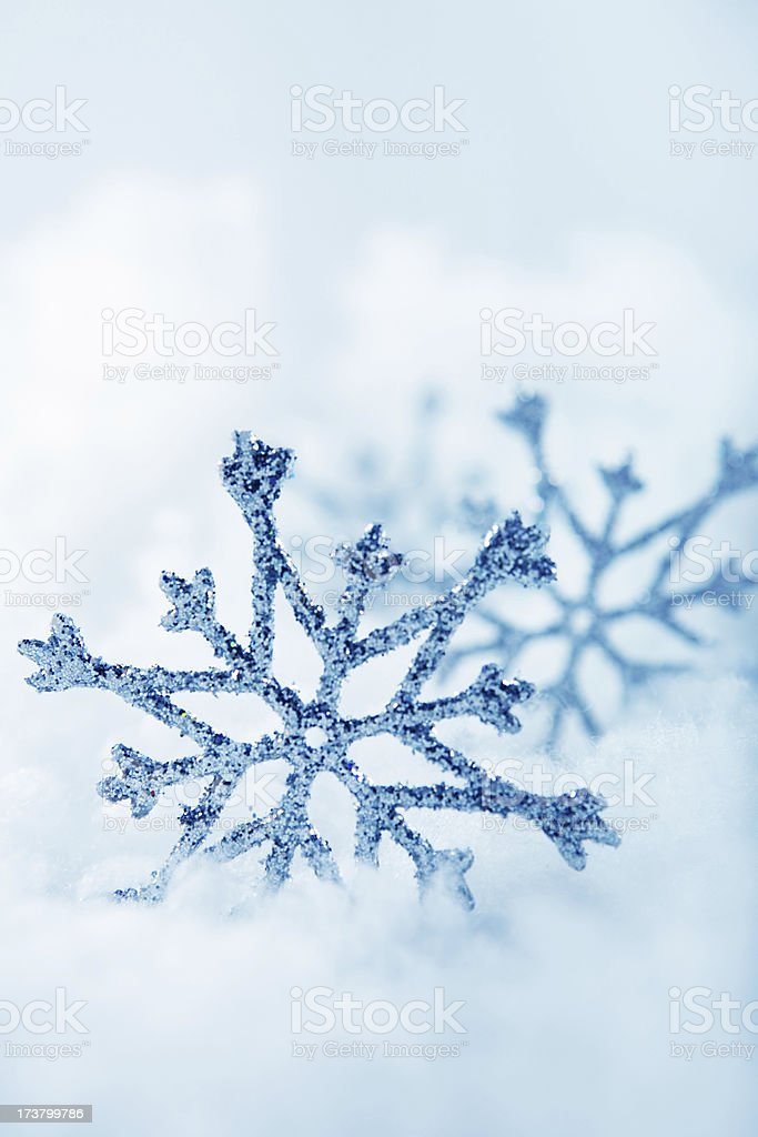 winter decoration royalty-free stock photo
