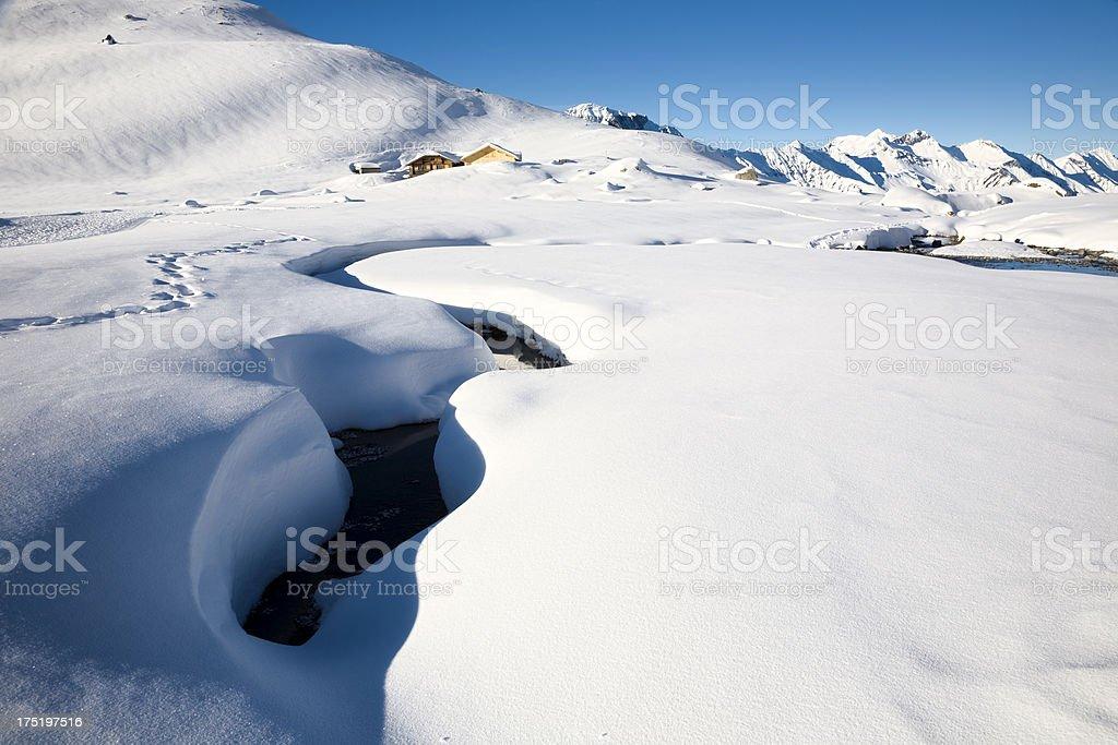 Winter dream royalty-free stock photo