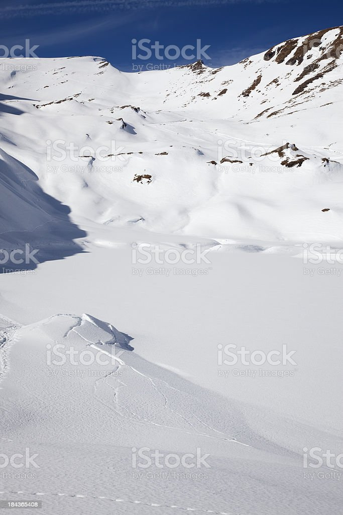 Winter dream royalty-free stock photo