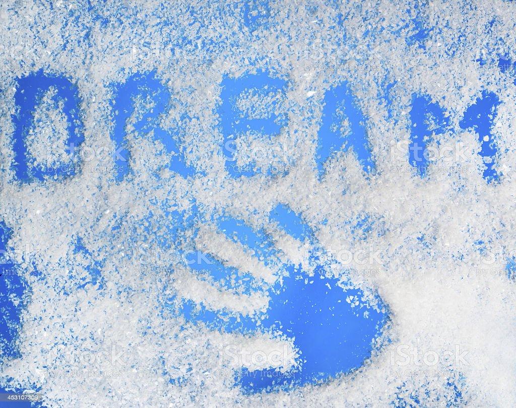 winter dream stock photo