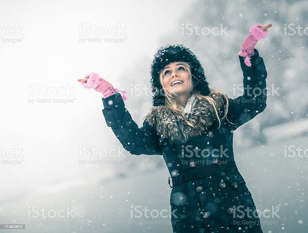 Winter dreams royalty-free stock photo