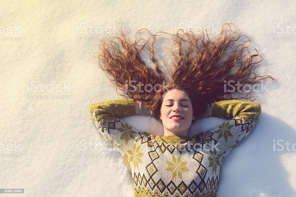 Winter Dreams stock photo
