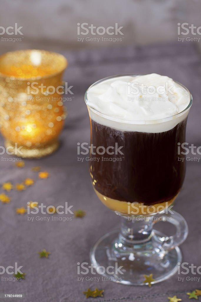 Winter drink foto royalty-free