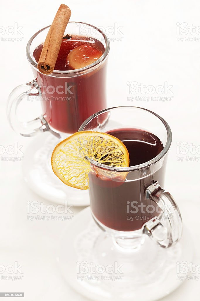 winter drinks royalty-free stock photo