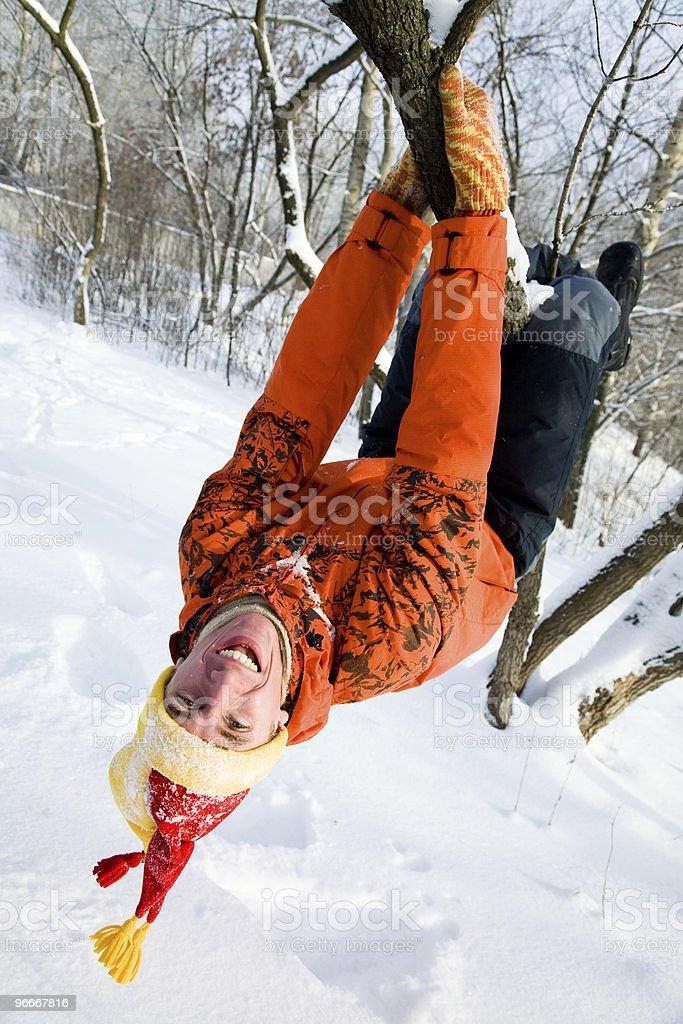Winter entertainments royalty-free stock photo