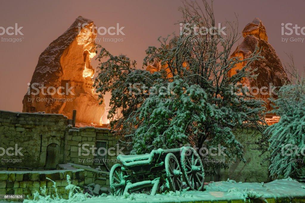 Winter fairyland stock photo