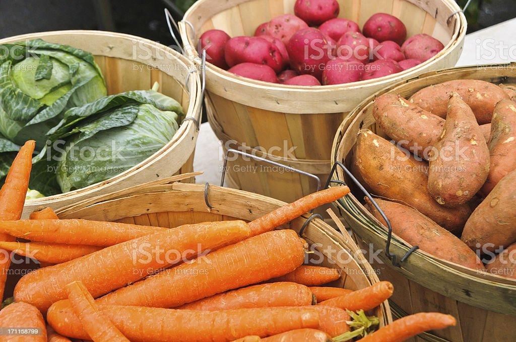 Winter Farmer's Market royalty-free stock photo