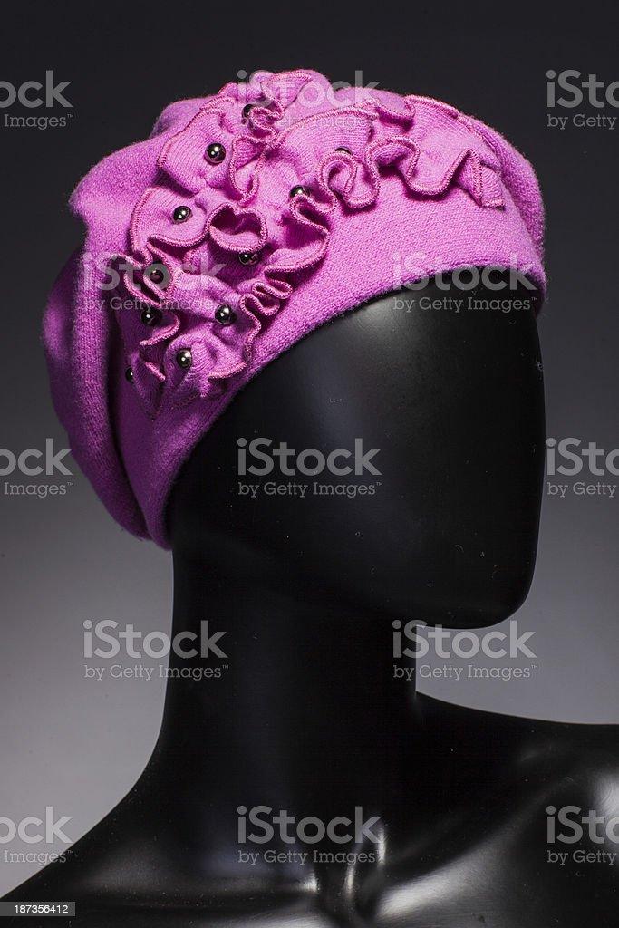Winter fashion royalty-free stock photo