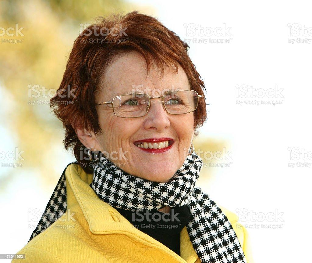WInter Fashions Yellow royalty-free stock photo