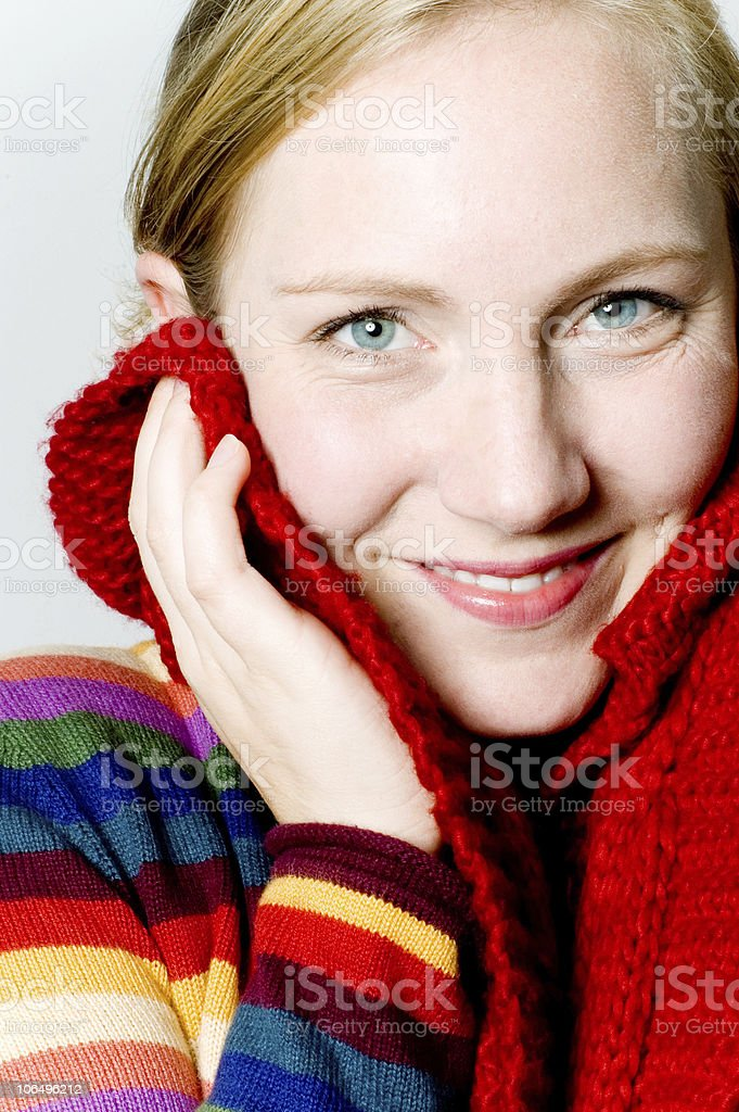 Winter feeling royalty-free stock photo