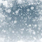winter frost background