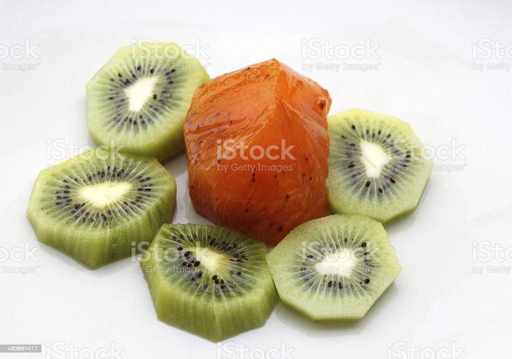 winter fruits stock photo