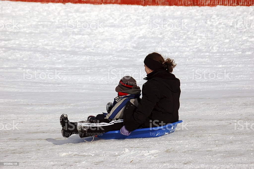 Winter Fun 2 royalty-free stock photo