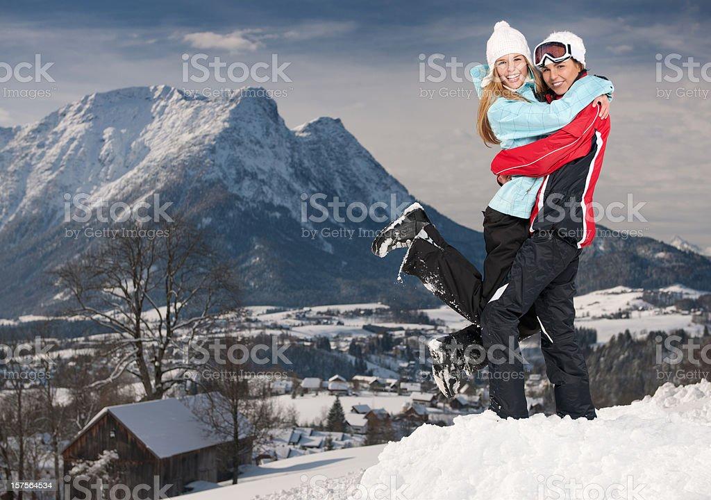 Winter Fun (XXXL) royalty-free stock photo