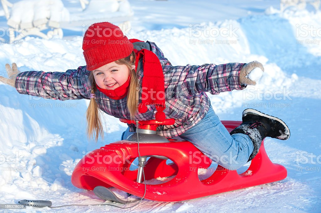 winter games in the snow royalty-free stock photo