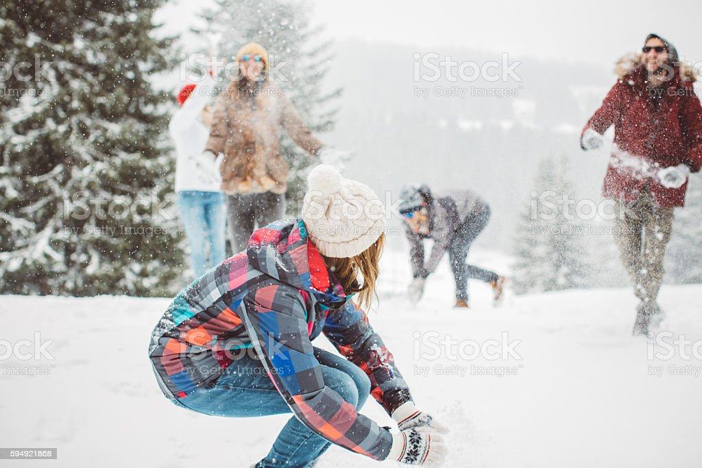 Winter games stock photo