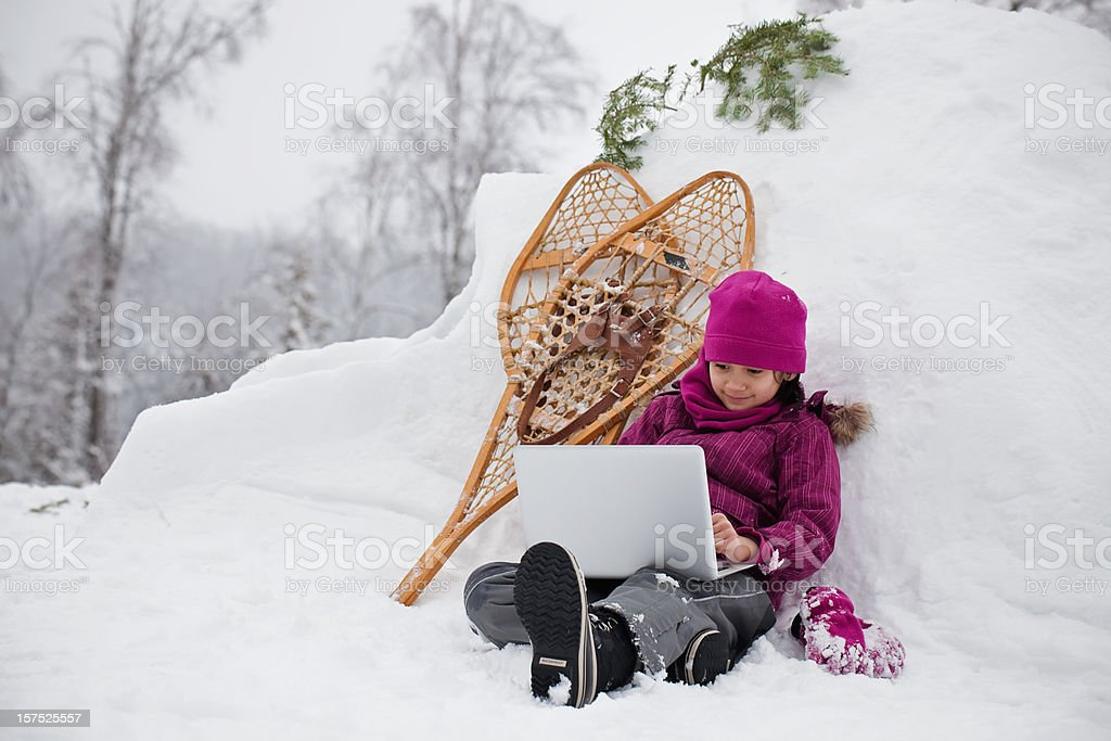 Winter Getaway stock photo