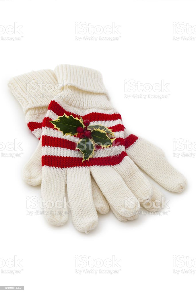 Winter gloves. royalty-free stock photo